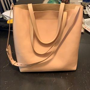 NWOT madewell medium transport tote in Linen